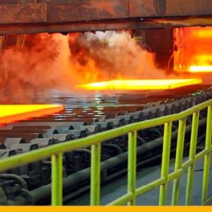 Metals Industry yellow bar