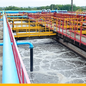 water industry yellow bar